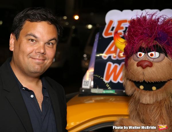 Robert Lopez and Trekkie Monster