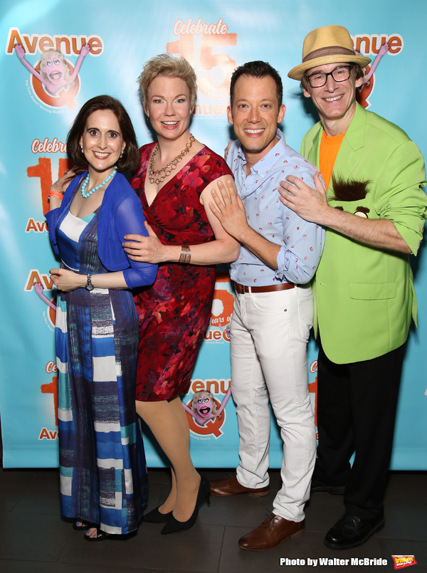 Stephanie D'abruzzo, Jennifer Barnhart, John Tartaglia and Rick Lyon