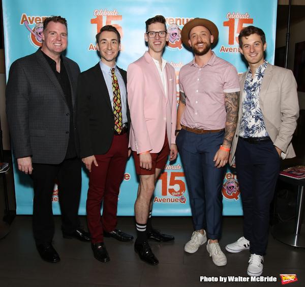 Nick Kohn, Jason Jacoby, Ben Durocher, Michae liscio Jr., and Matt Dengler