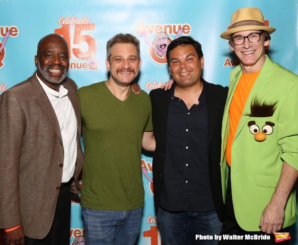 Ken Roberson, Jeff Marx, Robert Lopez and Rick Lyon