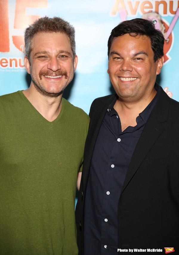 Jeff Marx and Robert Lopez