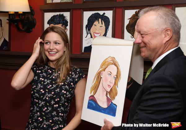 Melissa Benoist with Max Klimavicius  Photo