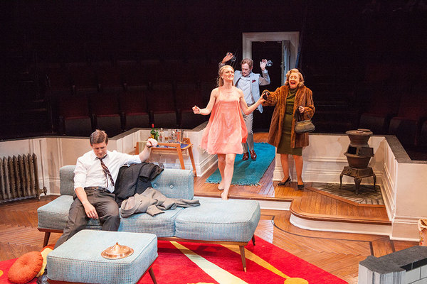 Photo Flash: Kerry Bishé and Chris Lowell Star in BAREFOOT IN THE PARK at The Old Globe