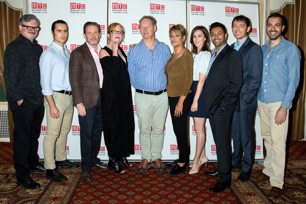 John Ellison Conlee, Ben Schnetzer, Thomas Jay Ryan, Johanna Day, Richard Bean, Alexandra Billings, Heather Lind, Bhavesh Patel, Max Gordon Moore, Ethan Hova