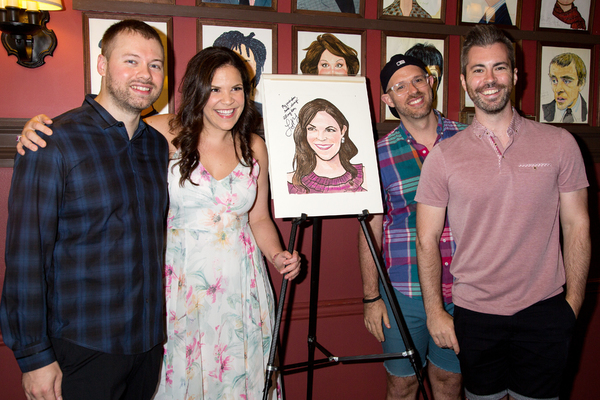 Philip Wakefield, Lindsay Mendez, Ryan Scott Oliver, Matthew Murphy Photo