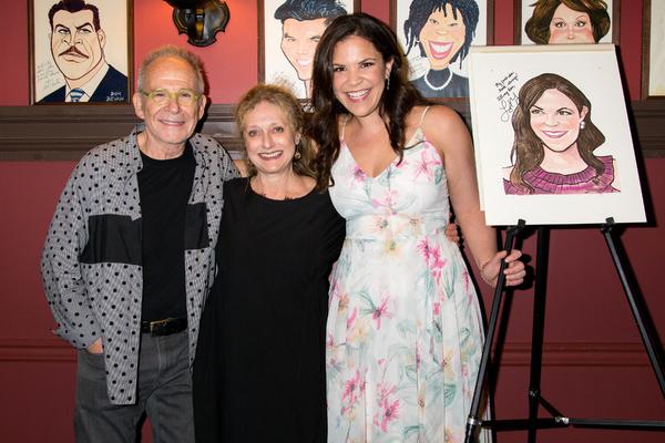Ron Rifkin, Carol Kane, Lindsay Mendez