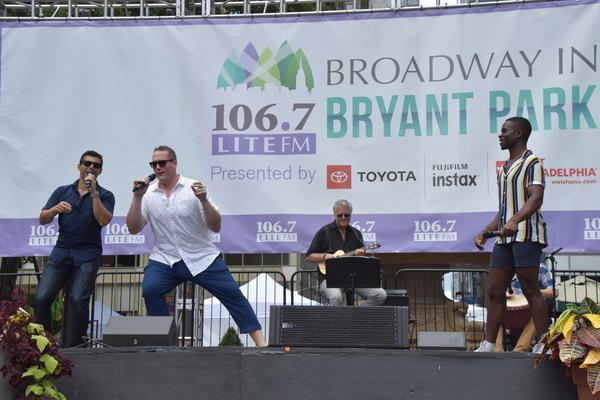 Fred Berman, Ben Jeffrey and Bradley Gibson