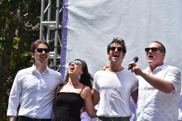Zach Hess, Wendi Bergamini, John Riddle and Ben Jeffrey Photo