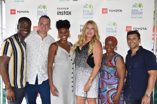 106.7 Lite FM's Delilah joins with Bradley Gibson, Ben Jeffrey, Adrienne Walker, Tshidi Manye and Fred Berman