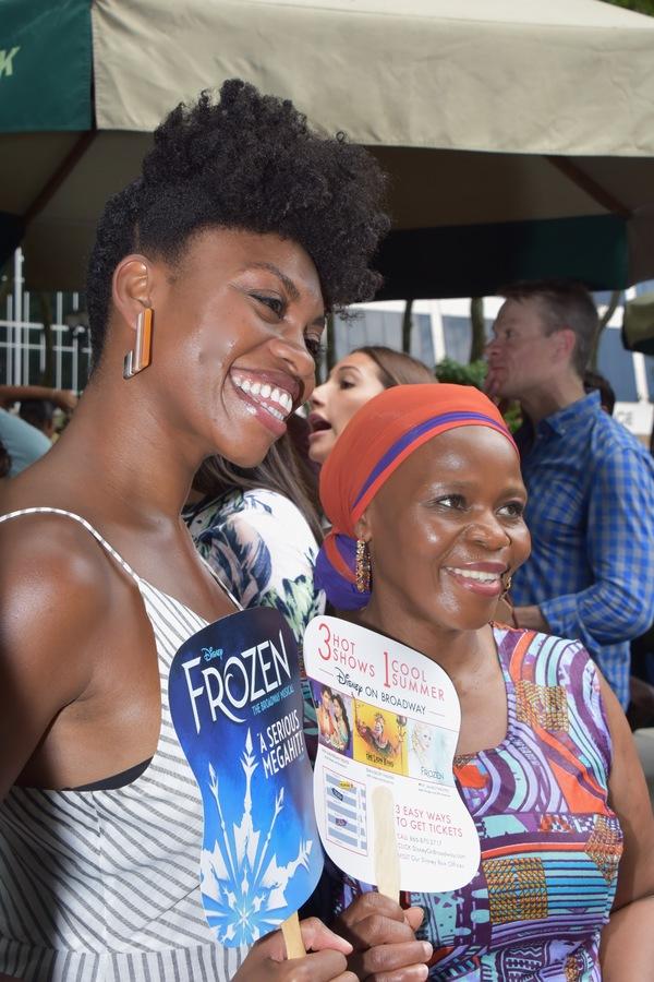 Adrienne Walker and Tshidi Manye