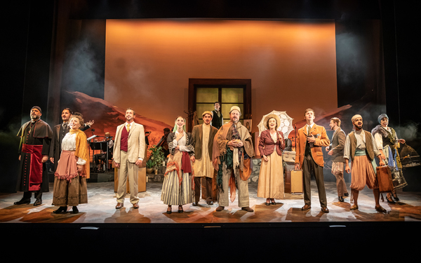Photo Flash: First Look at the World Premiere of BROKEN WINGS at Theatre Royal Haymarket