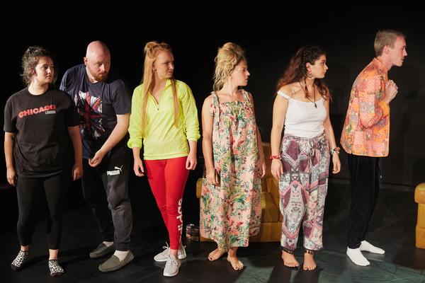 Jamie Parker, Henry Holmes, Clare Hawkins, Sophie Coulter, Angela Crispim and Garry S Photo