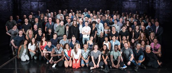 Photo Flash: KING KONG Begins Rehearsals on Broadway