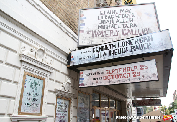 UP ON THE MARQUEE: THE WAVERLY GALLERY Arrives at the Golden Theater