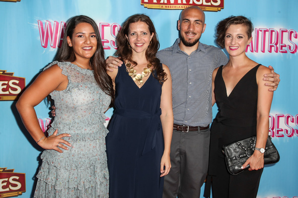 Photo Flash: On the Red Carpet at Opening Night of WAITRESS at the Pantages
