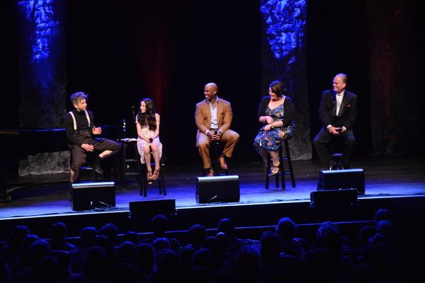 Jon Peterson, Mckayla Twiggs, Alan H. Green, Lisa Howard and Craig Schulman Photo