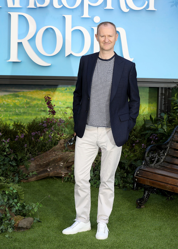 Mark Gatiss attends the European Premiere of Disney's 'Christopher Robin' at BFI Southbank on August 4, 2018 in London, England.  (Photo by Tim P. Whitby/Getty Images for Disney) *** Local Caption *** Mark Gatiss