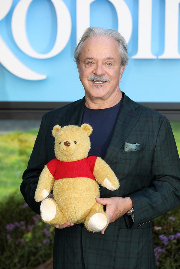 Jim Cummings attends the European Premiere of Disney's 'Christopher Robin' at BFI Southbank on August 4, 2018 in London, England.  (Photo by Tim P. Whitby/Getty Images for Disney) *** Local Caption *** Jim Cummings