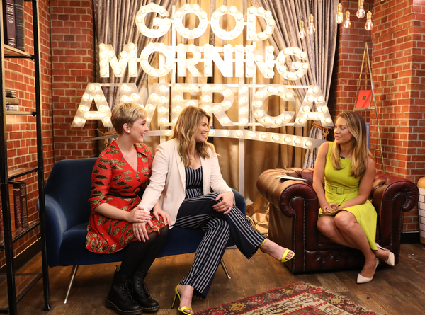 Cozi Zuehlsdorff, Heidi Blickenstaff,   and Ginger Zee Photo
