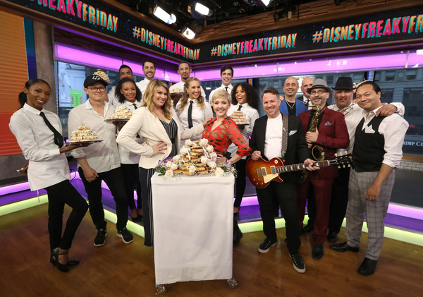 Photo Flash: Cozi Zuehlsdorff and Heidi Blickenstaff Perform Live Version of New Song From FREAKY FRIDAY on GOOD MORNING AMERICA