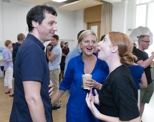 Photo Flash: Rehearsals Begin For COMPANY on the West End, Starring Patti LuPone