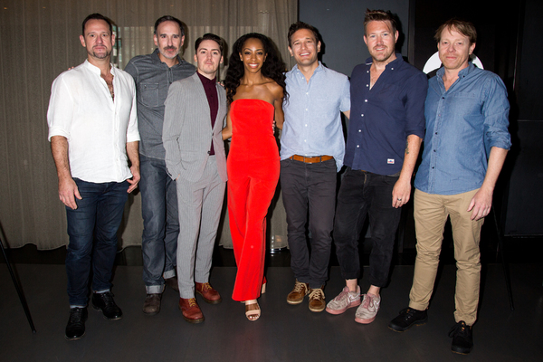 Gavin Robins, Erik Lochtefeld, Drew McOnie, Christiani Pitts, Eric Williams Morris, E Photo