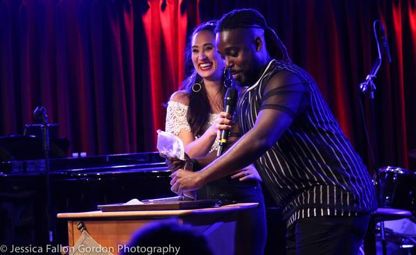 Katie Lynch and Mykal Kilgore