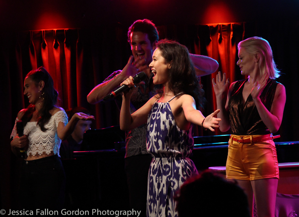 Photo Coverage: Katie Lynch Brings BACKSTAGE BITE: LIVE to The Green Room 42