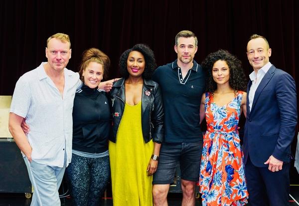 Photo Flash: BODYGUARD - Das Musical: Die Proben haben begonnen