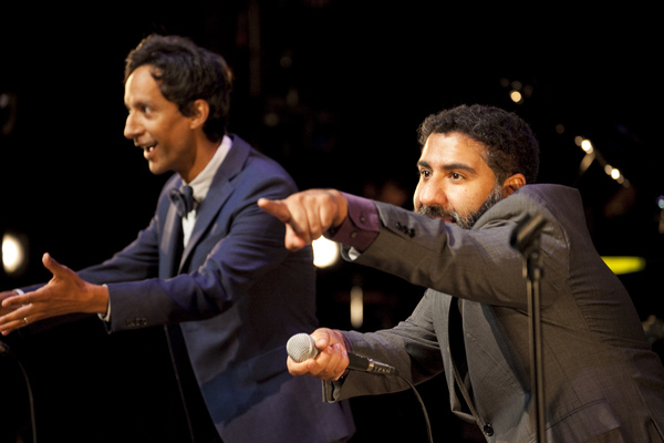 Danny Pudi and Parvesh Cheena