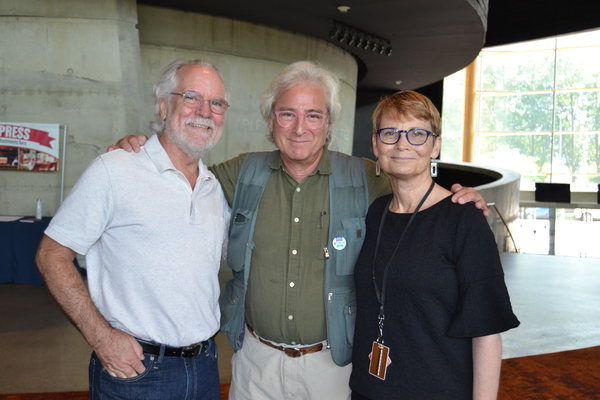 General Manager Ian Pool, Director John Gould Rubin and Director of Community Engagement/Senior Artistic Advisor Anita Maynard-Losh