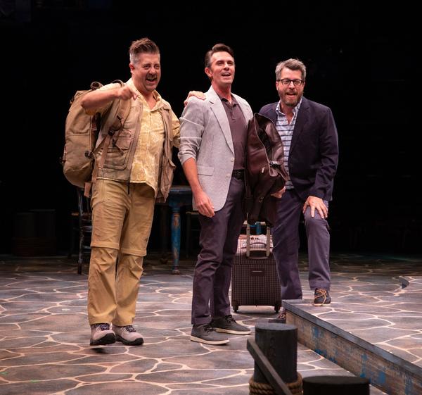 Eric Petersen, Eric Kunze and Trey Ellett