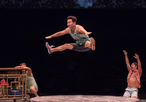 Photo Flash: MAMMA MIA! Dances Into Broadway at Music Circus
