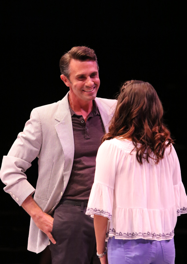 Eric Kunze and Francesca Arostegui