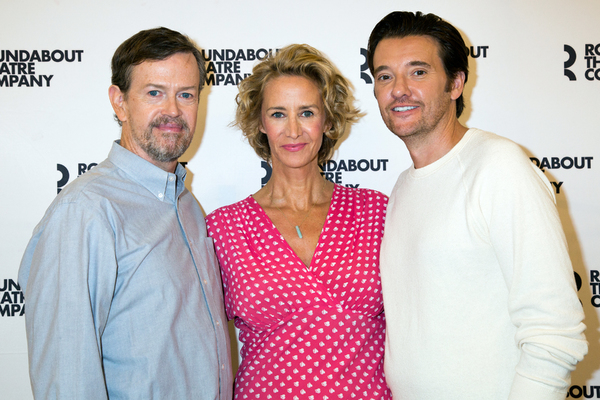Photo Coverage: Janet McTeer & the Company of Broadway-Bound BERNHARDT/HAMLET Meet the Press!