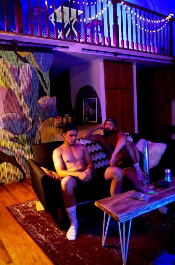 Juan Arturo and Matthew Bovee in BUFFALO BUFFALO Photography by Katie Pedro