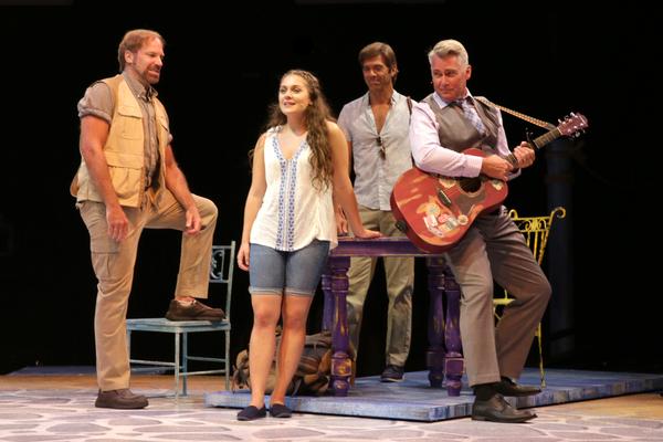 Malia Monk (Sophie) with Al Bundonis (Bill), David Elder (Sam) and Christopher Carl (Harry)