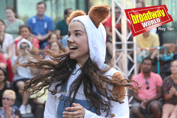 Photo Flash: First Look at the Double Bill of KING ARTHUR And THE WONDERFUL WIZARD OF OZ At The London Scoop By Free Open Air Theatre