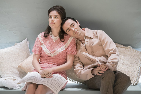 Aisling Loftus (Claire) and David Dawson (Casimir)