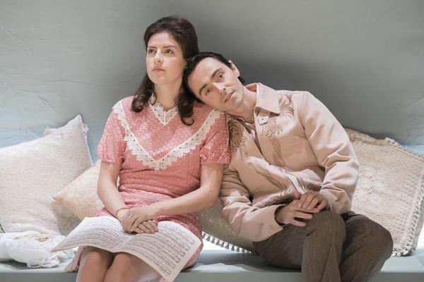 Aisling Loftus (Claire) and David Dawson (Casimir) Photo