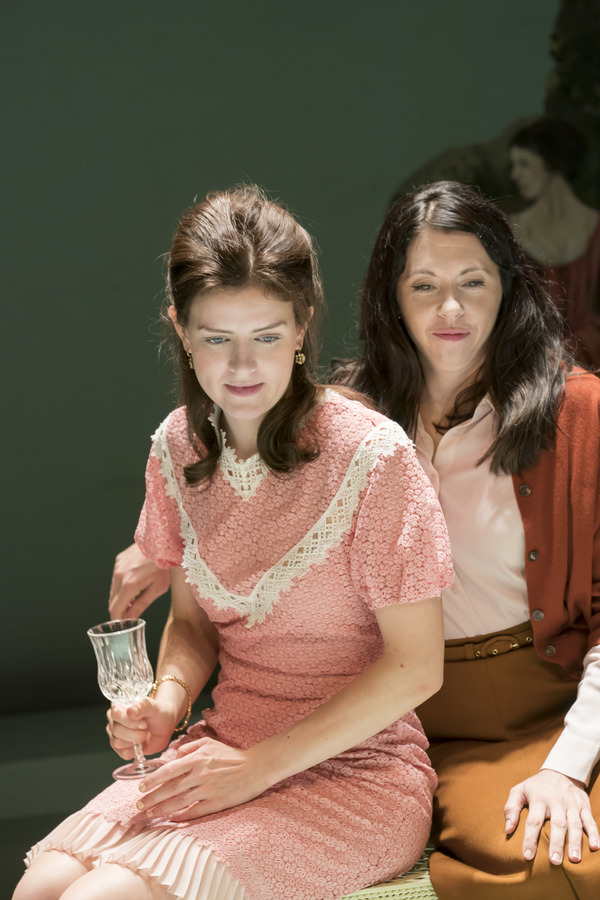 Aisling Loftus (Claire) and Eileen Walsh (Judith)