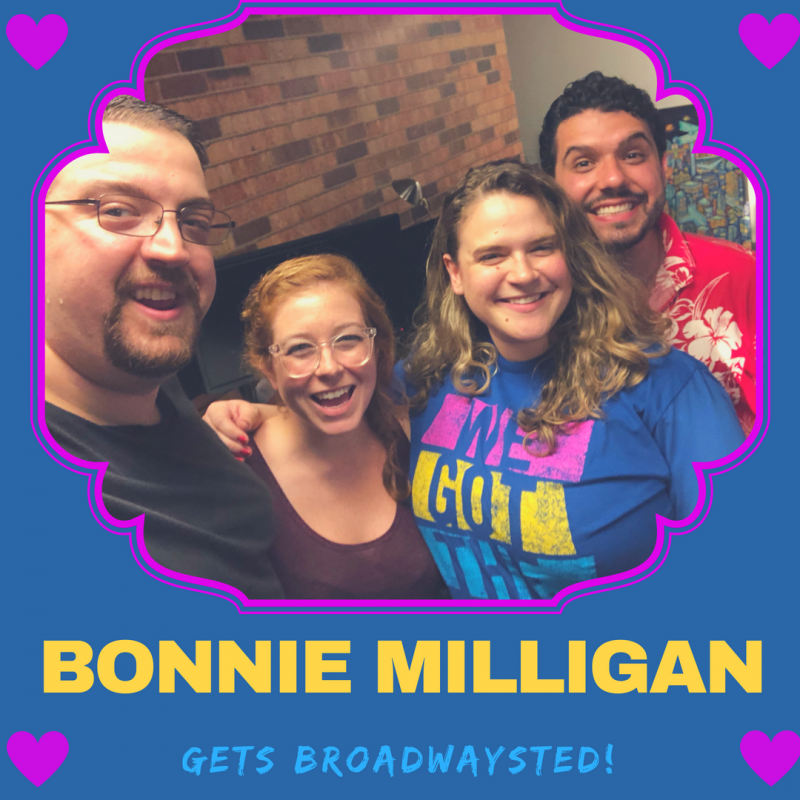 The 'Broadwaysted' Podcast Welcomes HEAD OVER HEELS' Bonnie Milligan