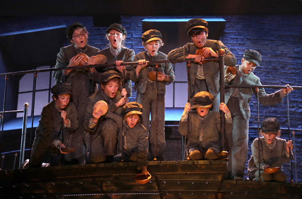 "�""Food, Glorious Food"" The cast of Goodspeed Musicals' Oliver!"
