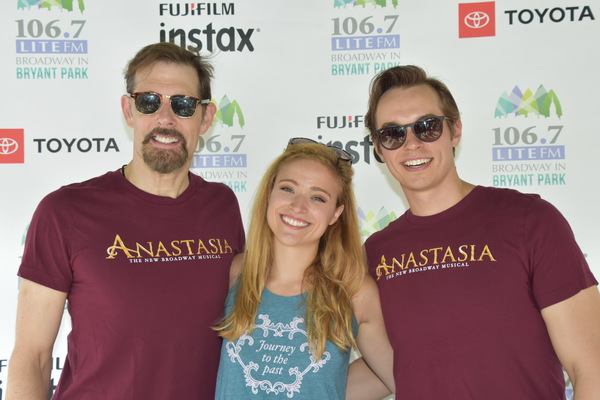From Anastasia-John Bolton, Christy Altomare and Zach Adkins