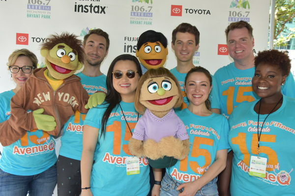 From Avenue Q-Maggie Lakis, Jason Jacoby, Grace Choi, Matt Dengler, Dana Steingold, Nick Kohn and Danielle K. Thomas