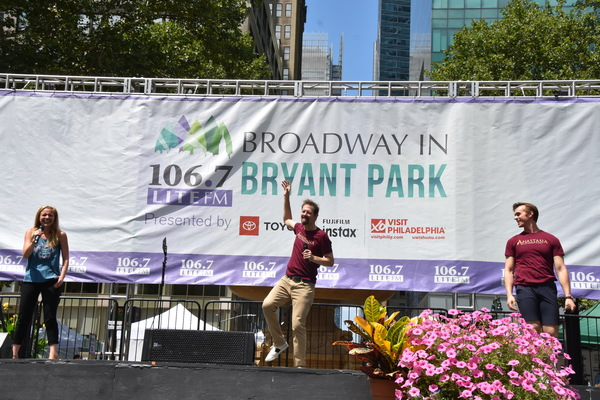 Photo Coverage: SUMMER, ANASTASIA & More Take Over Broadway In Bryant Park!