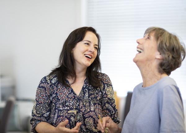 Amanda Drew & Eileen Atkins