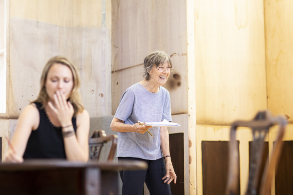 Anna Madeley and Eileen Atkins