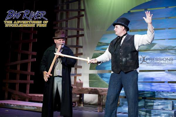 Photo Flash: BIG RIVER: THE ADVENTURES OF HUCKLEBERRY FINN Comes to The Sauk