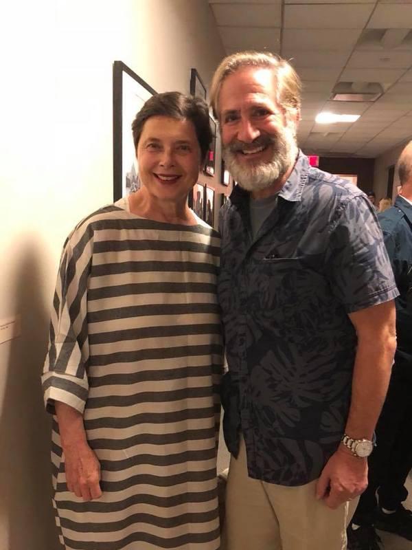 Isabella Rossellini and Bruce Sabath